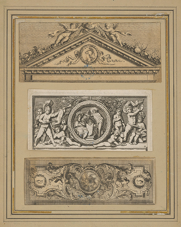 Stredoeurópsky maliar zo 17. storočia - Tri reliéfne návrhy