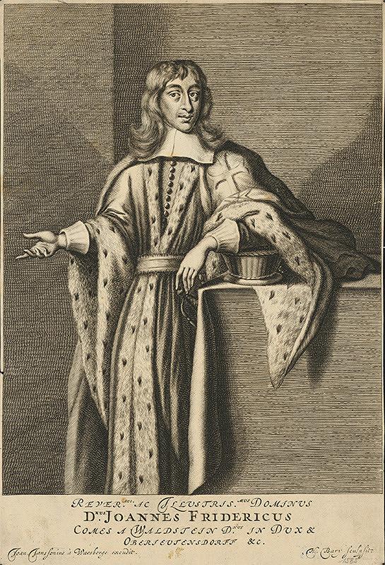 Hendrik Bary, Issac von Waesberge - Podobizeň Jána Fridricha z Valdštejna, kniežaťa z Oberjeutensdorfu