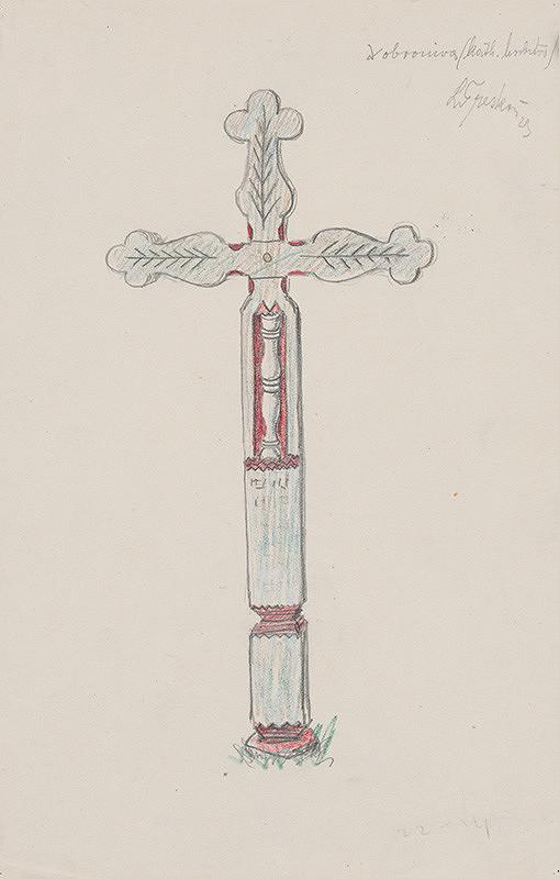 Ladislav Treskoň – Náhrobný kríž z Dobronivy