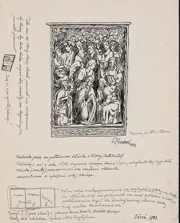 Ladislav Treskoň – Bočná oltárna drevorezba