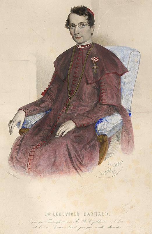 Eduard Kaiser - Portrét Ľudovíta Haynalda