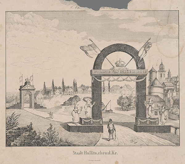 Ferdinand Karl Klimsch, Karl Wilhelm Wach - Slávobrána