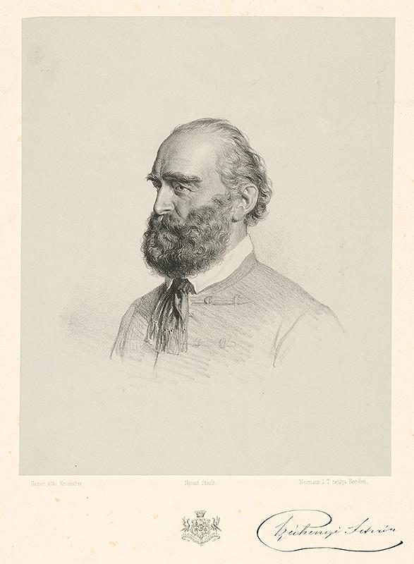 Joseph Kriehuber - Portrét grófa Štefana Széchenyiho