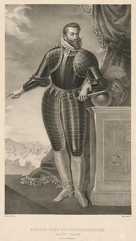 Franz Stohl, Michael Stohl – Portrét grófa Adolfa zo Schwarzenbergu