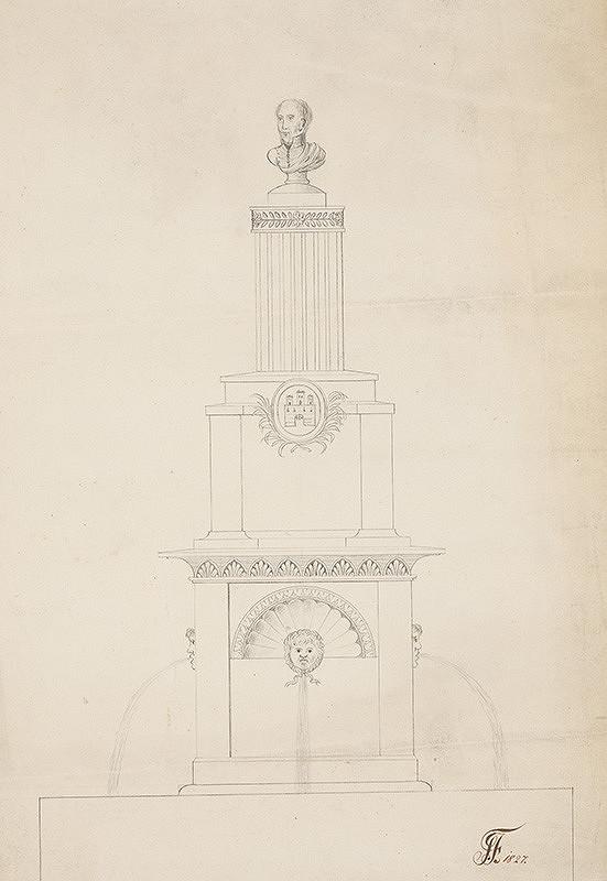 Ignác Feigler st. – Návrh na pomník cisára Františka I.