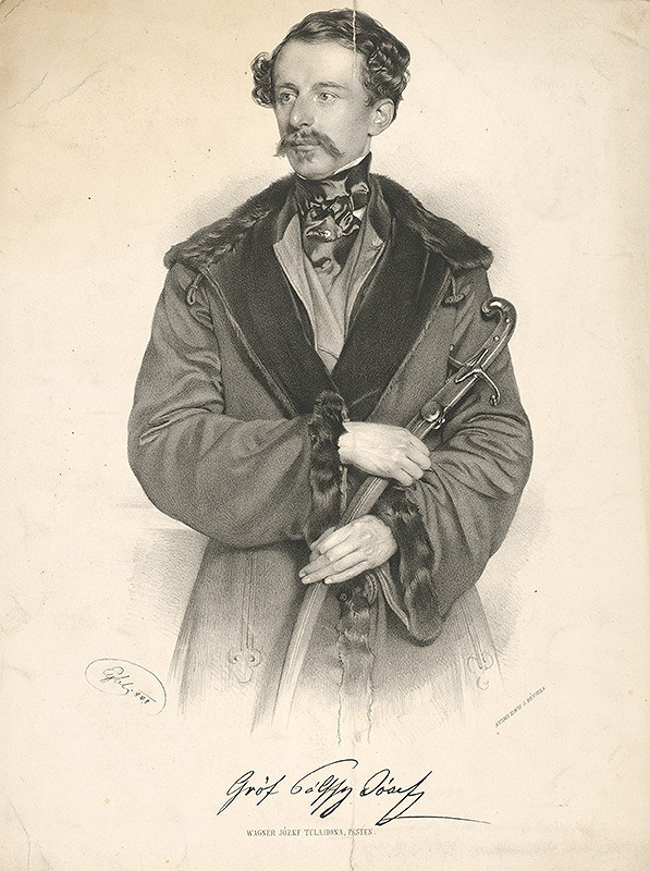 Franz Eybl – Portrét grófa Jozefa Pálffyho