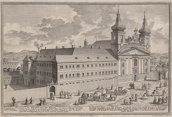 Georg Daniel Heumann, Salomon Kleiner – Kostol a kláštor Sv. Sebastiana a Rocha vo Viedni