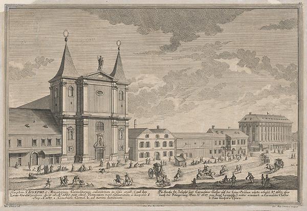 Georg Daniel Heumann, Salomon Kleiner – Kostol Sv. Jozefa a kláštor karmelitov vo Viedni