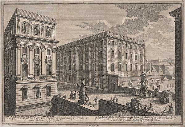 Johann August Corvinus, Salomon Kleiner – Dom Clerici Regulares