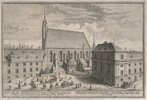 Salomon Kleiner – Špitálsky kostol vo Viedni