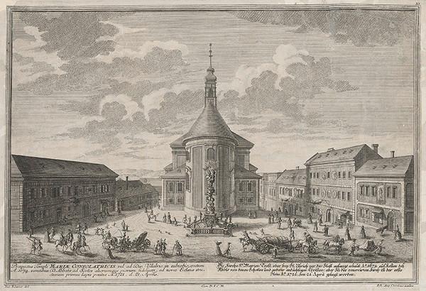 Salomon Kleiner – Kostol Potešenia Sv.Márie vo Viedni