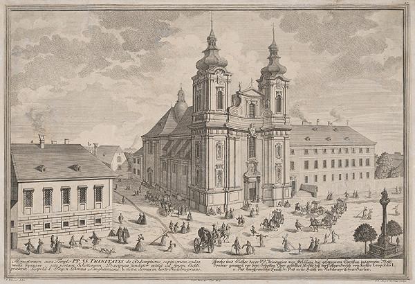 Salomon Kleiner – Kostol a kláštor sv. Trojice vo Viedni