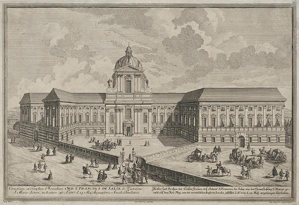 Salomon Kleiner – Kostol a kláštor Saleziánov vo Viedni