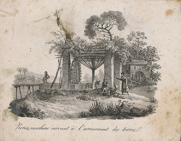 Stredoeurópsky maliar z 19. storočia - Stroj na zavlažovanie pôdy