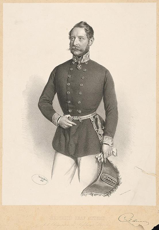 B.J. Rauh, Joseph Kriehuber - Portrét grófa Attemsa