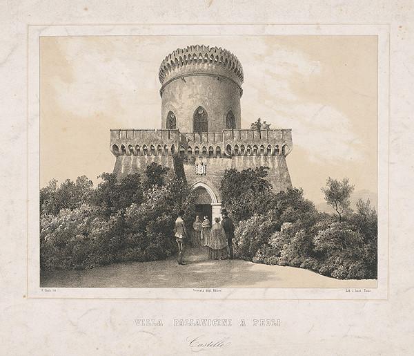 Stredoeurópsky maliar z 19. storočia – Vila Pallavicini a Pegli