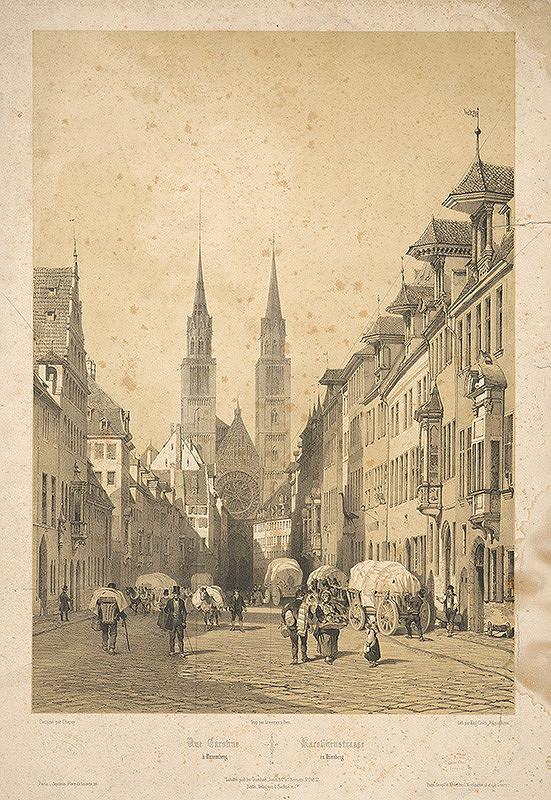 Francúzsky maliar z 19. storočia – Karolínska ulica