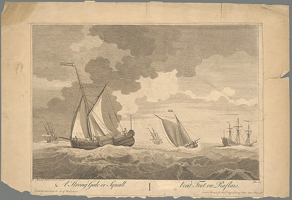 Stredoeurópsky maliar z 19. storočia – Na rozbúrenom mori