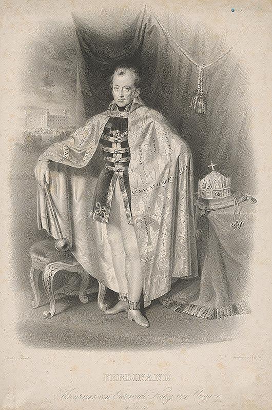 Adolf Theer, Carl Johann Nepomuk Hemerlein – Uhorský kráľ Ferdinand V.