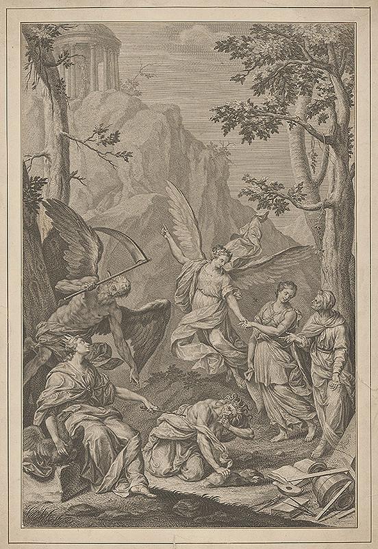 Stredoeurópsky maliar z 18. storočia - Biblický výjav