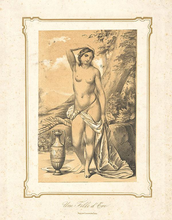Francúzsky maliar z 19. storočia – Dcéra Evina