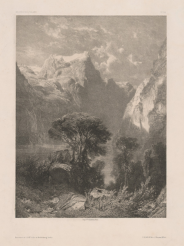 Stredoeurópsky maliar z 19. storočia – Krajinka