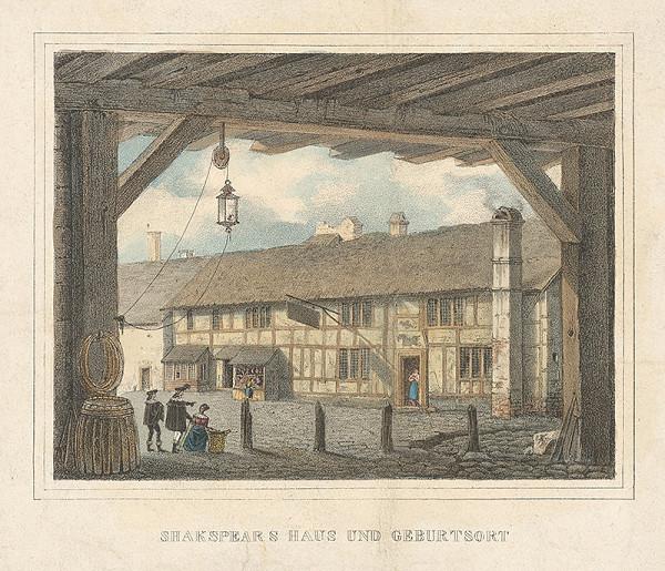 Stredoeurópsky maliar z 19. storočia - Rodný dom Shakespeara