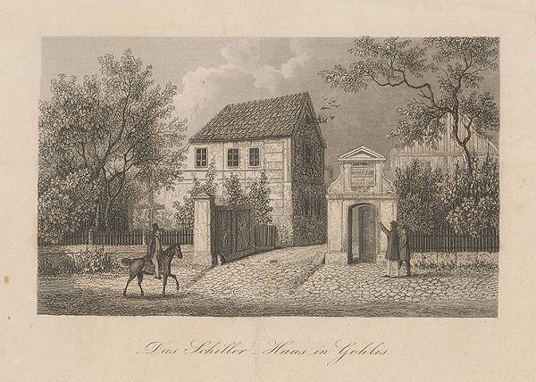 Nemecký maliar z 19. storočia – Rodný dom Schillera