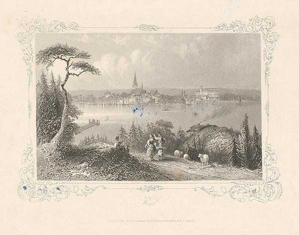 Nemecký maliar z 19. storočia - Kiel