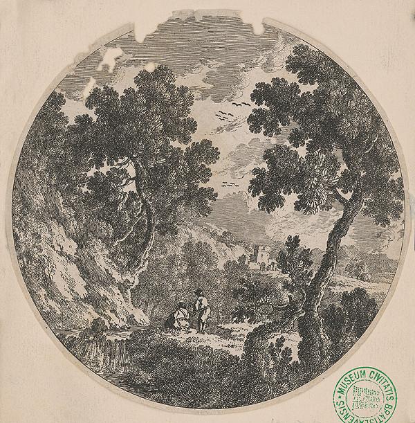 Stredoeurópsky maliar z 18. storočia - Krajinka