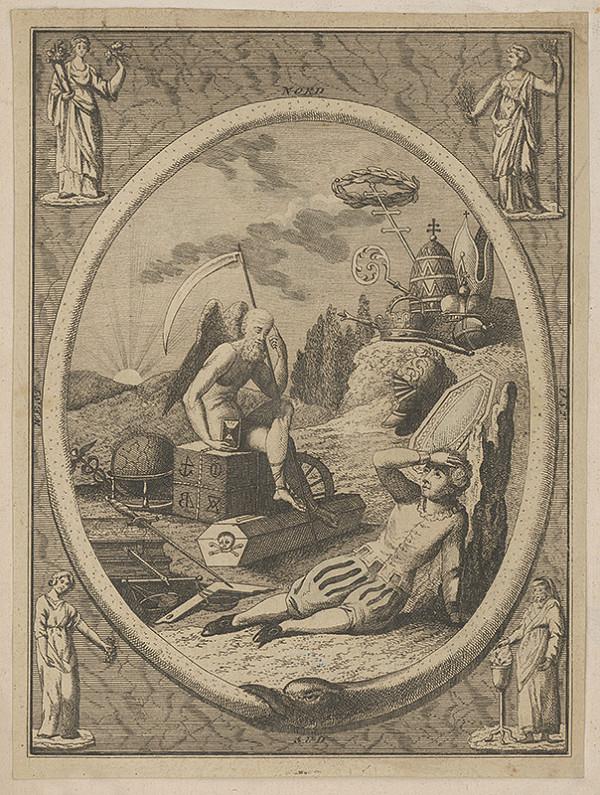 Taliansky maliar z 18. storočia – Mládenec a smrť