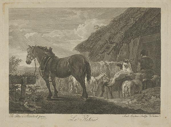 Stredoeurópsky maliar z 18. storočia – Pastierka