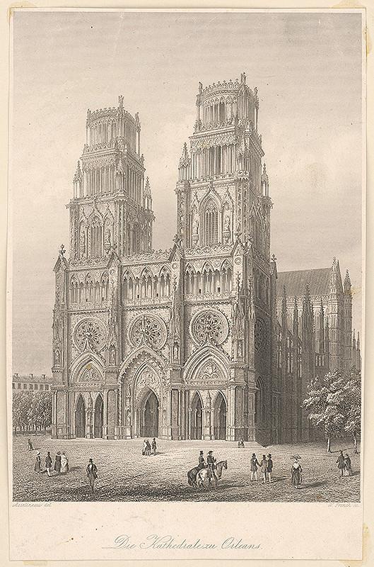Stredoeurópsky maliar z 19. storočia – Katedrála v Orleans
