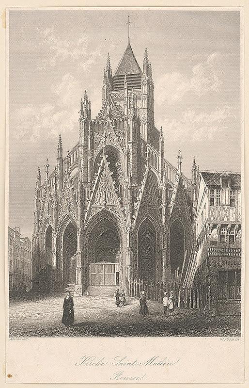 William French, Leon Auguste Asselineau – Kostol sv. Maclona v Rouen