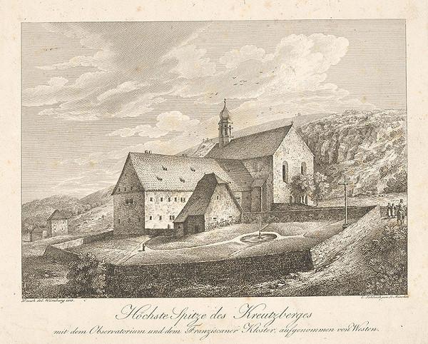 Johann Carl Schleich st., Johann Dauch – Kláštor Františkánov