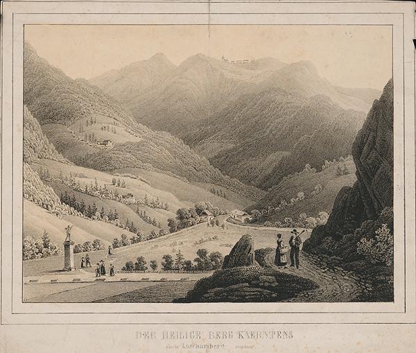 Nemecký maliar z 19. storočia – Svätý vrch