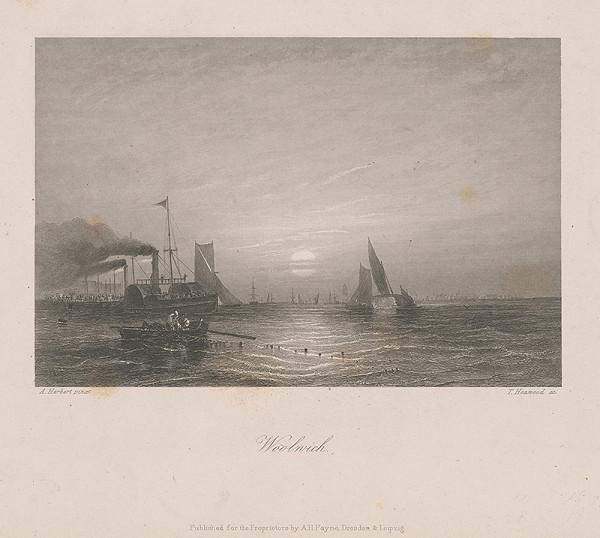 Stredoeurópsky maliar z 19. storočia - Prístav Woolwich