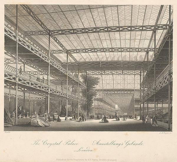 Albert Henry Payne - Výstavný pavilón v Londýne