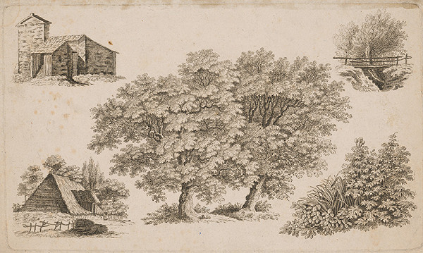 Stredoeurópsky maliar z 19. storočia - Krajinky
