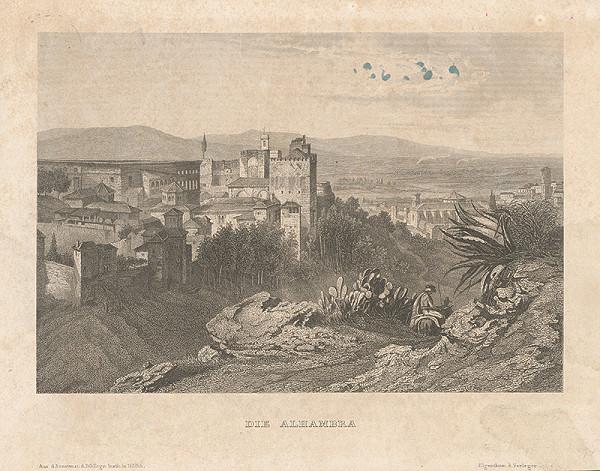 Stredoeurópsky maliar z 19. storočia – Alhambra