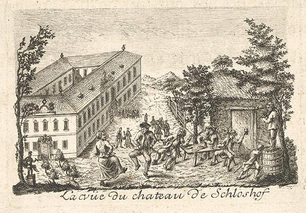 Francúzsky maliar z 18. storočia – Život na zámku Schloshof