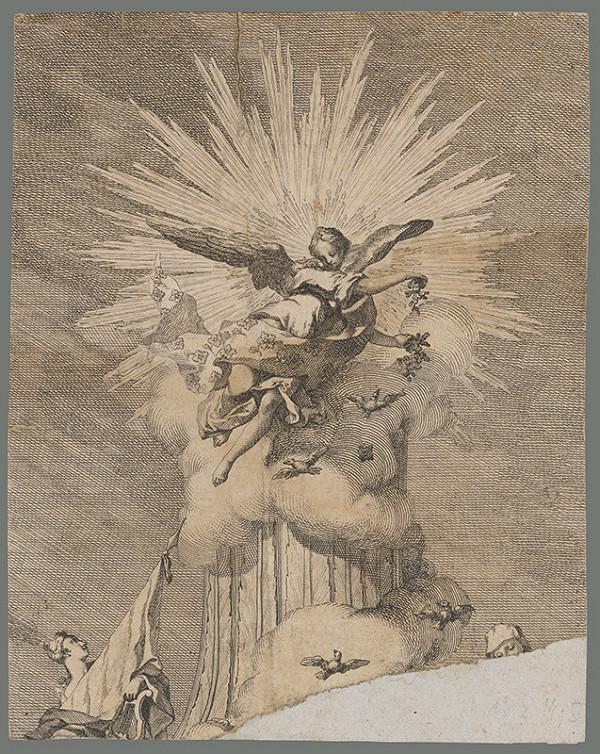 Francúzsky maliar zo začiatku 18. storočia - Alegória