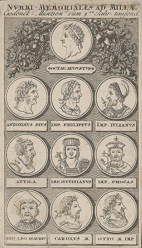 Stredoeurópsky maliar z 18. storočia - Medaila z V.storočia