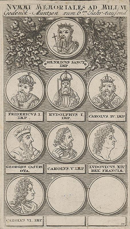 Stredoeurópsky maliar z 18. storočia – Medaila zo VI.storočia