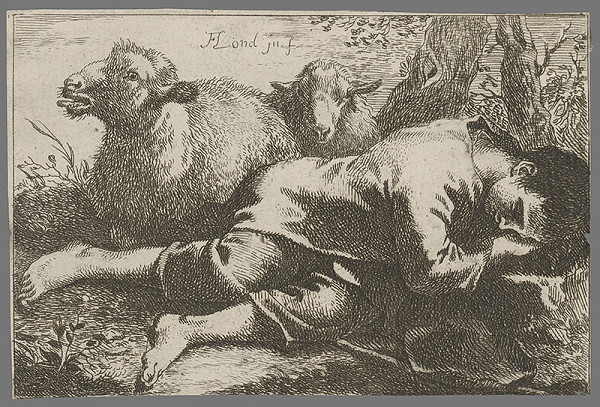 Francesco Londonio – Pastier s baranmi