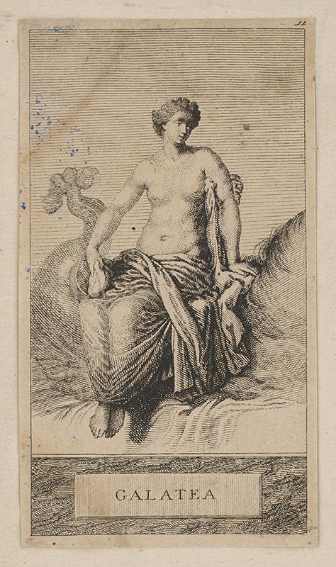 Stredoeurópsky maliar z prelomu 18. - 19. storočia - Galatea