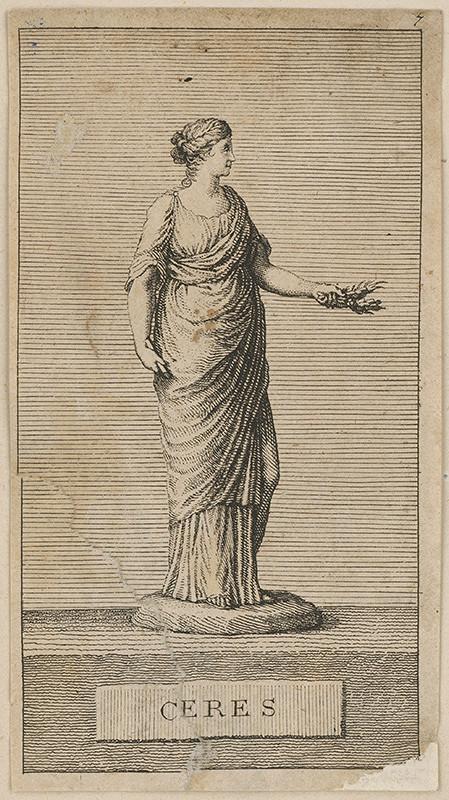 Stredoeurópsky maliar z prelomu 18. - 19. storočia - Ceres
