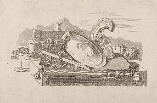 Stredoeurópsky grafik zo začiatku 19. storočia - Zátišie bojovníka