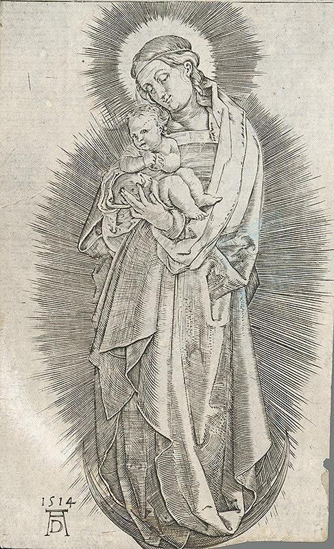 Albrecht Dürer - Madona s dieťaťom