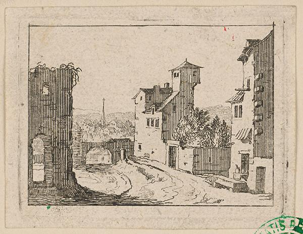 Stredoeurópsky grafik zo začiatku 18. storočia - Krajinka